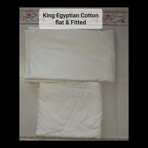 Other - King flat and fitted sheets
